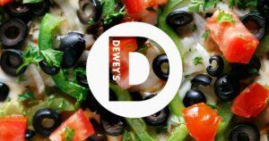 Deweys Pizza Logo