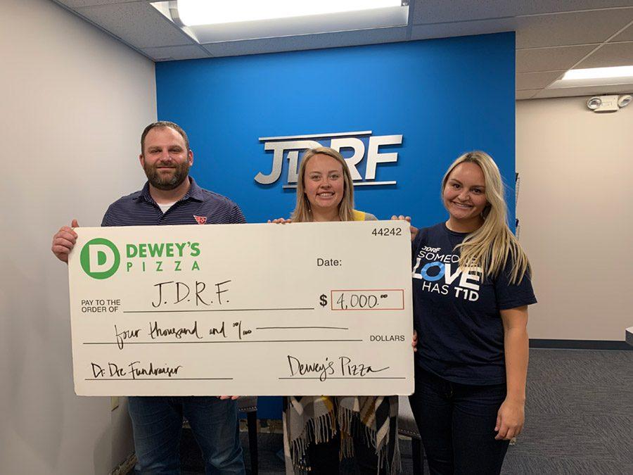 Dewey's Pizza Community Giving